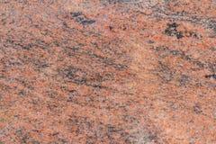 Отполированный розовый и черный гранит Стоковая Фотография