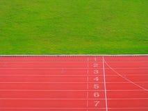 Отправная точка и финишная черта Стоковая Фотография RF