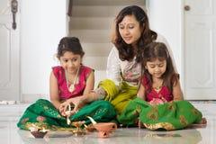 Отпразднуйте фестиваль Diwali Стоковые Фотографии RF