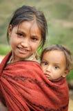 Отпрыски в Непале Стоковое Изображение