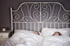 отпрыски кровати Стоковая Фотография