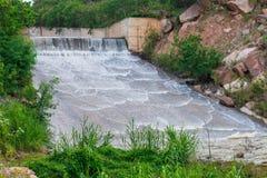 Отпуск воды запруды Стоковое Изображение RF