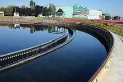 отработанная вода Стоковая Фотография