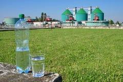 отработанная вода Стоковое Фото