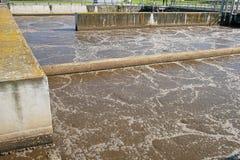 отработанная вода Стоковые Фото