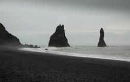 отработанная формовочная смесь пляжа Стоковое Изображение RF