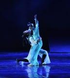 Отравленная драма танца слепоты- сказание героев кондора стоковое изображение rf