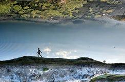 Отражательная прогулка Стоковое Фото