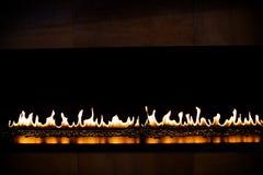 Отражательный камин газа Стоковое Фото