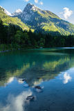 Отражать в озере стоковые фотографии rf