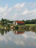 отражать фермы стоковое фото rf
