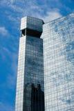отражая солнечний свет небоскреба Стоковая Фотография RF