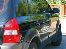 отражение автомобиля Стоковые Фото