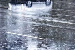 Отражение автомобиля Стоковое фото RF