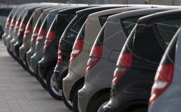 отражение автомобиля Стоковое Фото