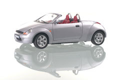 отражение автомобиля cinereous Стоковое фото RF