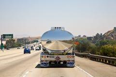 Отражение автомобиля в хроме Стоковые Изображения