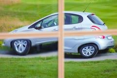 Отражение автомобиля Стоковое Изображение RF