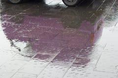 Отражение автомобиля Стоковая Фотография