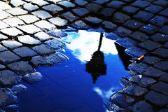 Отражение лампы Стоковая Фотография