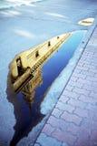 Отражение бассеина Стоковые Фотографии RF