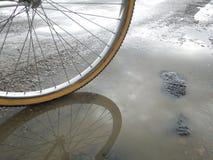 Отражение велосипеда Стоковое фото RF