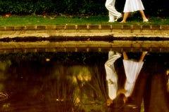 отражение влюбленности Стоковое Изображение RF