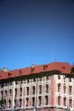 Отражение дворца Libochovice стоковая фотография