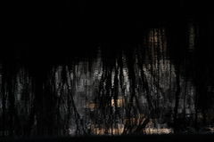 Отражение воды Стоковое Изображение