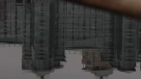 Отражение в воде сток-видео