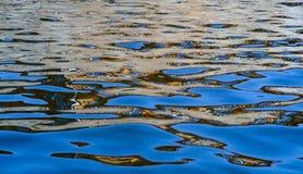 Отражение в воде Предпосылка для вашего проекта Стоковые Фото