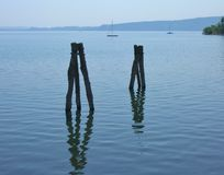 Отражение в воде Стоковое фото RF
