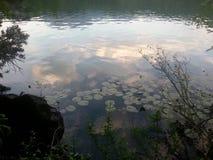 Отражение в озере Стоковое Изображение RF