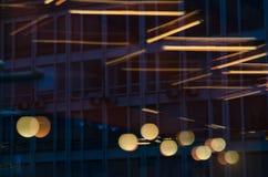 Отражение в стекле Стоковое Изображение