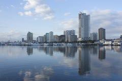Отражение 1 города Стоковая Фотография