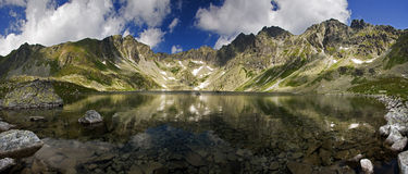 отражение горы озера Стоковое Изображение