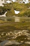 отражение горы Стоковая Фотография RF