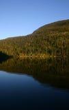 отражение горы Стоковые Изображения