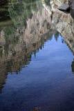 отражение горы Стоковое Изображение RF