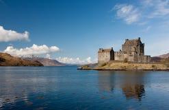 отражение замока Стоковое Изображение