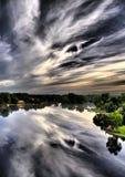 Отражение на сумерк Стоковая Фотография RF