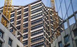 Отражение зданий Стоковые Фото
