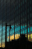 Отражение здания Стоковые Изображения RF