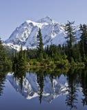 отражение изображения озера Стоковое Изображение