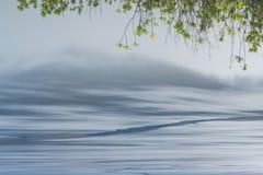 Отражение иллюзии озера стоковое изображение rf