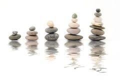 отражение камушков Стоковое Фото