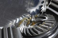 отражение масла шестерен Стоковое фото RF