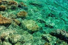 Отражение моря поверхностное Стоковое фото RF