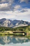 отражение моста Стоковое Изображение RF