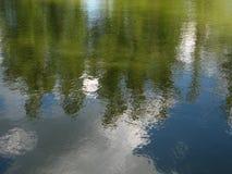 Отражение на воде Стоковое фото RF